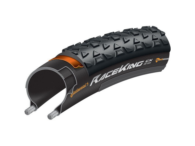 Continental Race King CX PureGrip 700 x 35C Folding click to zoom image