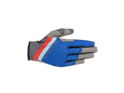 Alpinestars Aspen Pro Glove 2019 Black Anthracite Blue Red