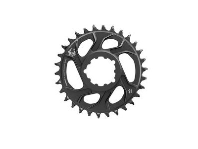 Sram Chain Ring Eagle X-sync 2 30t Direct Mount -4mm Offset Alum Black 30t
