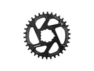 Sram Chain Ring Eagle X-sync 34t Direct Mount 3mm Offset Boost Alum 12 Speed Black 12spd 34t