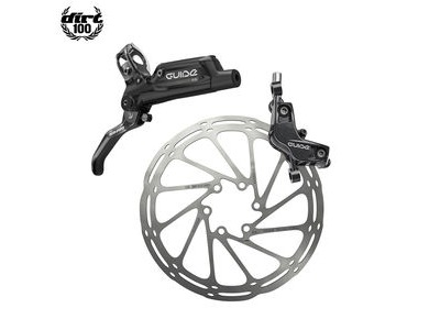 Sram Guide RE - Rear 1800mm Hose - Gloss Black (Reache-mtb) Guide Lever Code 4piston Caliper (Rotor/Bracketsold Separately) A1 Black 1800mm