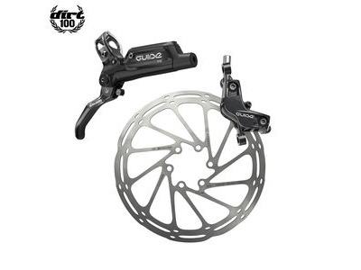 Sram Guide RE - Front 950mm Hose - Gloss Black (Reache-mtb) Guide Lever Code 4piston Caliper (Rotor/Bracketsold Separately) A1 Black 950mm