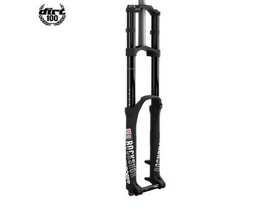 "Rock Shox - Boxxer 26"" World Cup - Soloair 200 Maxle Dh Black Charger Dh Rc, Alum Str 1 1/8"" 160mm Post Mount (Includes Tall And Short Crowns, Maxle Lite Dh & Stealth Decal) B2 - My18 Black 26"""