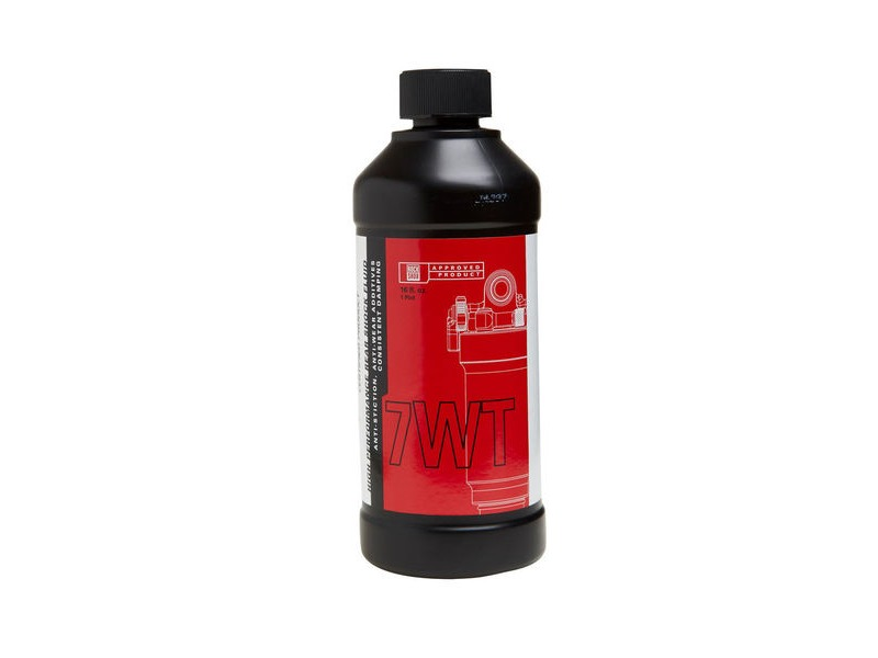 Rock Shox Rear Suspension Damping Fluid 7wt 120ml Bottle click to zoom image