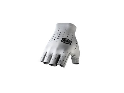 100% Sling Short Finger Glove Grey