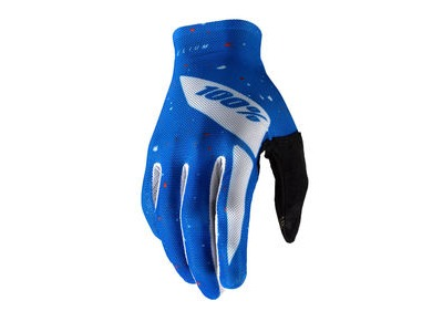 100% Celium Glove Blue / White