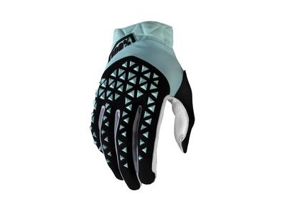 100% Airmatic Glove Sky Blue / Black