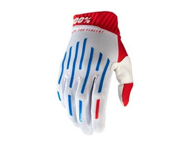 100% Ridefit Glove Red / White / Blue