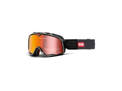100% Barstow Goggles Gasby / Red Mirror Lens