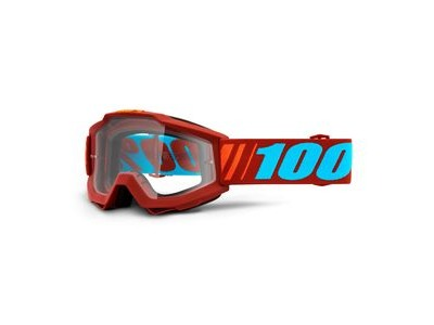 100% Accuri Goggles Dauphine / Clear Lens