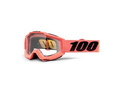 100% Accuri Goggles Rogen / Clear Lens