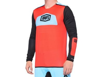 100% R-Core X Jersey Fluo Red / Black