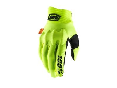 100% Cognito D30 Glove 2019 Fluo Yellow / Black