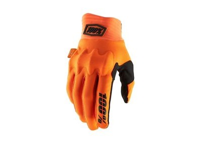 100% Cognito D30 Glove 2019 Fluo Orange / Black