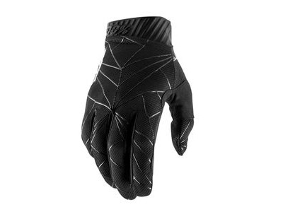 100% Ridefit Glove 2019 Black / White
