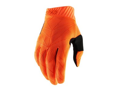 100% Ridefit Glove 2019 Fluo Orange / Black