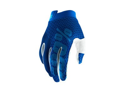 100% iTrack Glove 2019 Blue / Navy