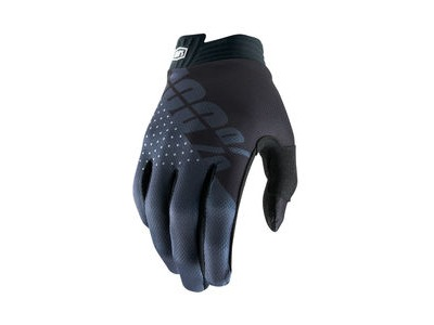 100% iTrack Glove 2019 Black / Charcoal