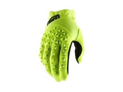 100% Airmatic Youth Glove 2019 Fluo Yellow / Black