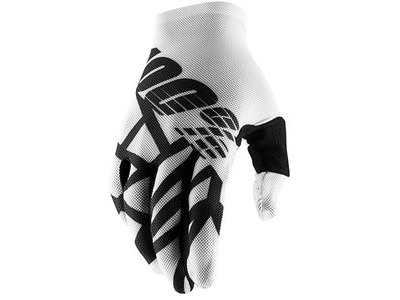 100% Celium 2 Glove White / Black