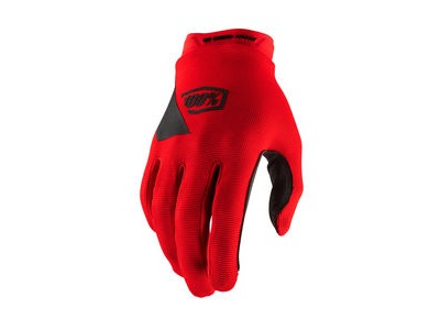 100% Ridecamp Youth Glove Red