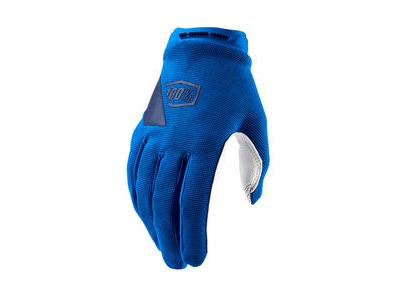 100% Ridecamp Women's Glove Blue