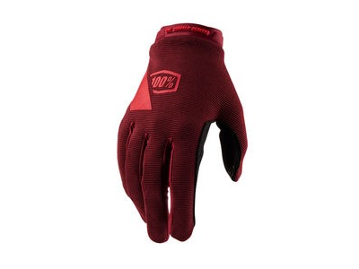 100% Ridecamp Women's Glove Brick