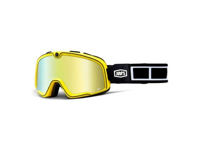 100% Barstow Goggles Burnworth / Gold Mirror Lens