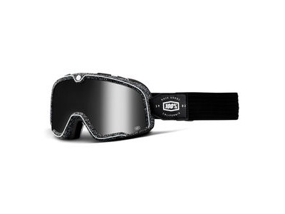100% Barstow Goggles Noise / Silver Mirror Lens