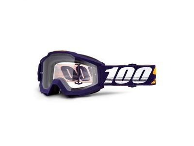 100% Accuri Goggles Grib / Clear Lens