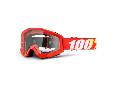 100% Strata Goggles Furnace / Clear Lens