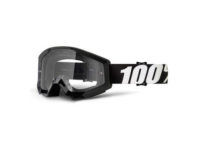 100% Strata Goggles Outlaw / Clear Lens