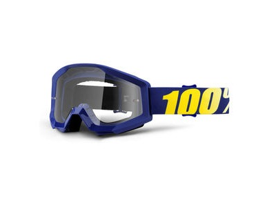 100% Strata Goggles Hope / Clear Lens