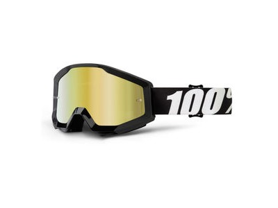 100% Strata Goggles Outlaw / Gold Mirror Lens
