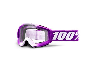 100% Accuri Youth Goggles Framboise / Clear Lens