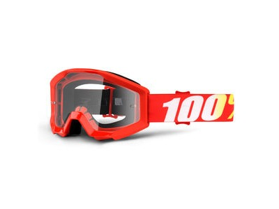 100% Strata Junior Goggles Furnace / Clear Lens