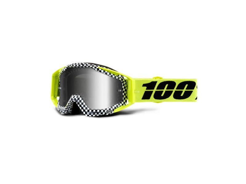 100% Racecraft Goggles Andre / Silver Mirror Lens click to zoom image