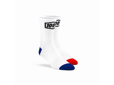 100% TERRAIN Socks White