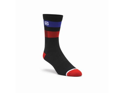 100% FLOW Performance Socks Black