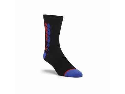 100% RHYTHM Merino Wool Performance Socks Black