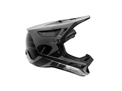 100% Aircraft Composite Helmet LTD Black