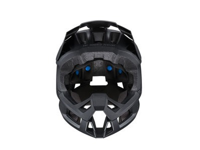 100% Trajecta Helmet Black click to zoom image