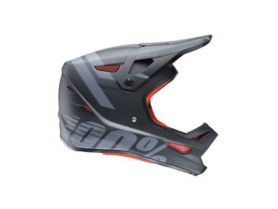 100% Status Youth Helmet Black Meteor
