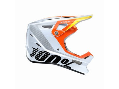 100% Status DH / BMX Helmet D-Day White Youth