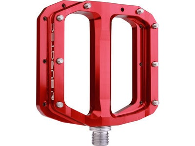 Burgtec Penthouse Flat MK4 Pedals  Race Red  click to zoom image