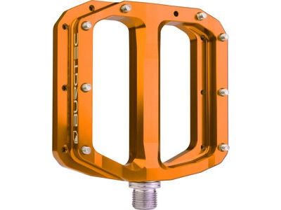 Burgtec Penthouse Flat MK4 Pedals  Iron Bro Orange  click to zoom image