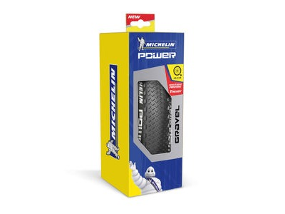 Michelin Power Gravel Tyre 700 x 40c Black (40-622) click to zoom image