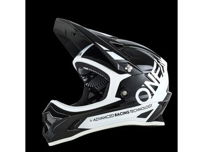 O Neal Backflip Fidlock DH RL2 Full Face Helmet Bungarra Black/White