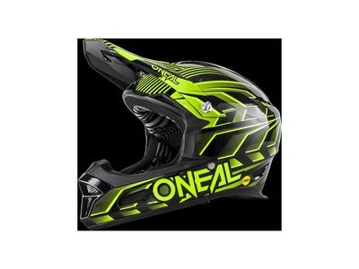 O Neal Fury Mips RL DH Full Face Helmet Black/Yellow 53-54cm