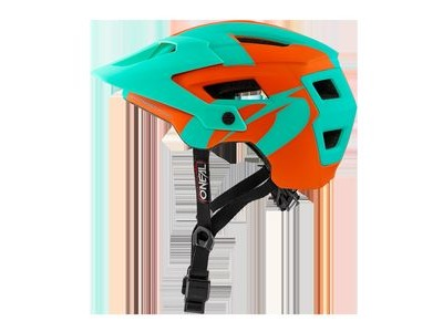 O Neal Defender 2 MTB Helmet Orange/Teal